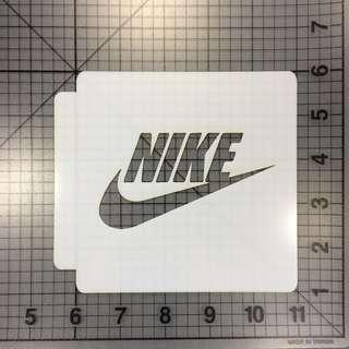 Sneaker Custom Nike Swoosh Stencil #APR75