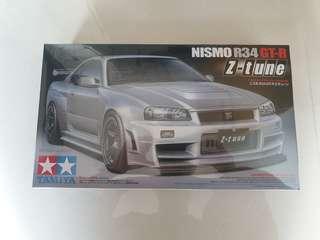 🚚 Tamiya 1/24 NISSAN GTR and Mitsubishi EVO