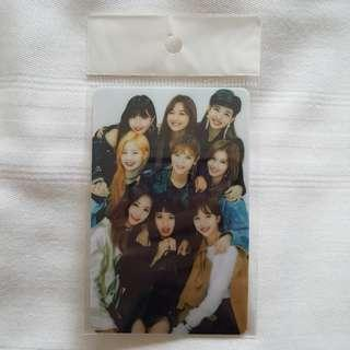 🚚 twice ezlink card sticker