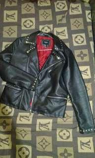 ramones/biker Leather Jacket
