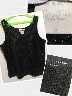 gatsby black sleeveless
