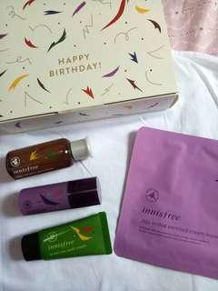 Innisfree Birthday Kit