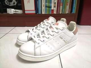 [FREE POS] Adidas Originals Stan Smith Premium Suede Pink #APR75
