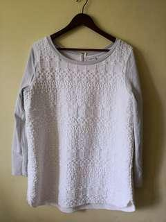 PRELOVED PLUS SIZE MERONA KNITTED BLOUSE 2-3XL
