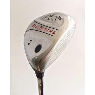 Callaway Golf Steel Shaft 3 號球道中