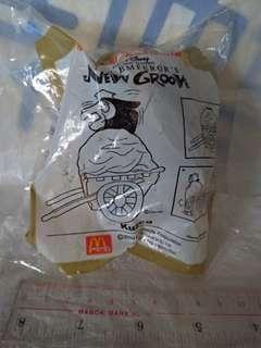 全新麥當勞開心樂園餐玩具騎呢大帝主角之一(kuzco)