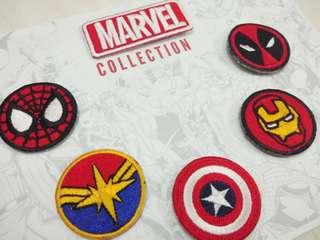 MARVEL limited Embroidered Patches Collection Set