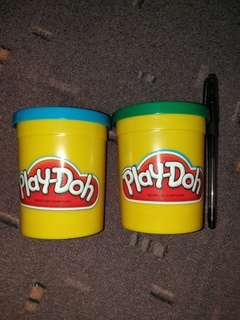 Play Doh Coin bank