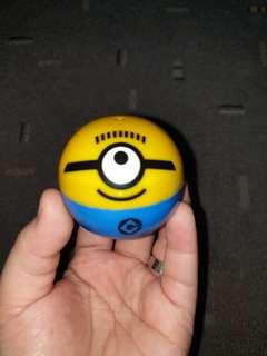 Minions Eraser and coin bank set
