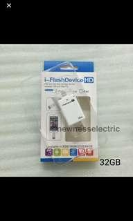 🚚 (In stocks)iFlashdrive 2 in 1 32GB Android and iOS USB Flash Drive For iPhone 5/5s/5c/6/6 Plus/7/7plus