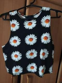 Forever21 (daisy top)