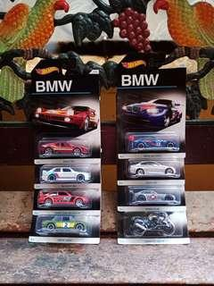 Hot Wheels BMW Series Fullset