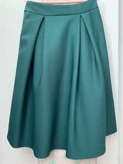 🚚 Midi skirt green