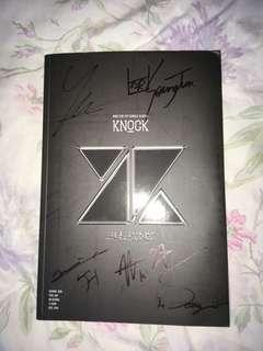 [RARE!] KNK - Knock Album Signed by ALL Members
