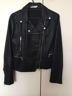 ATMOS&HERE faux leather jacket SIZE 16