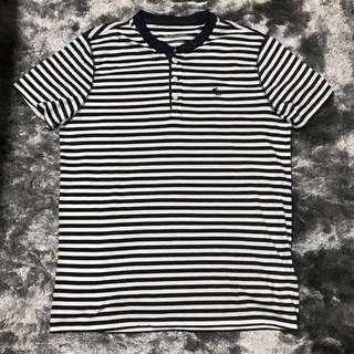 Abercrombie & Fitch Crew Neck Stripe T-Shirt 👕
