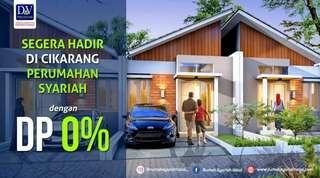 Rumah dp 0% di Cikarang