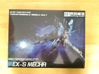 暴風模型 EX S Gundam 合金成品