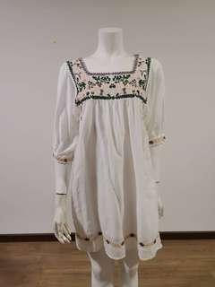100% Japan Imported preloved high quality white dress