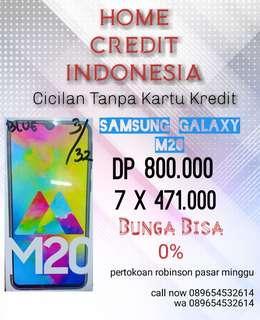 Promo Cicilan Samsung M20 Bunga Bisa 0%