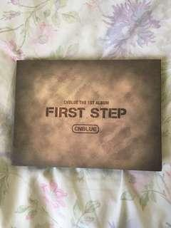 CNBLUE - First Step Album
