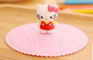 Hello Kitty / Doraemon silicon cup cover