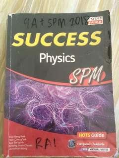 [INC POS]Success Physics SPM