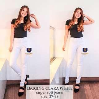 LEGGING CLARA WHITE