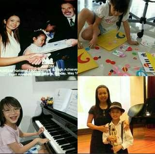 Private piano lesson/tuition up to Diploma level