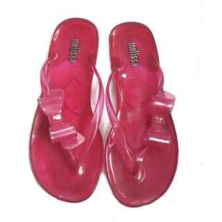 Melissa Ribbon Slippers
