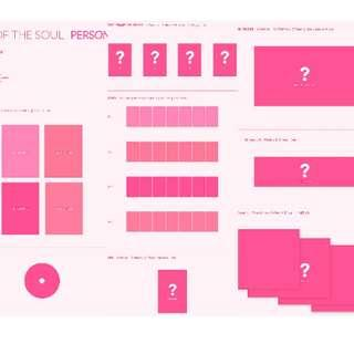 """[PRE ORDER – SEALED POSTER] BTS - Album """"MAP OF THE SOUL : PERSONA"""""""