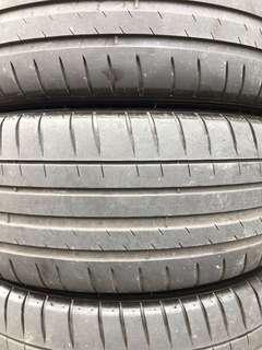"""4 X Michelin PS4 225/45/17 17"""" Tyres (40% Threads)"""