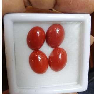Italian Original Coral. Different Sizes. PM for details including Jewelry Making Service.