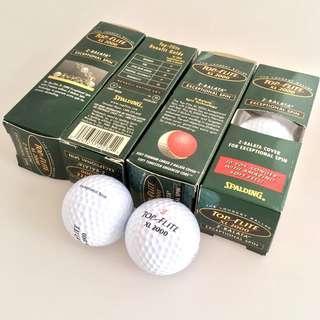 全新 美國制造 Top Flite Z-Balata Golf Ball 高爾夫球 (4條售$70)
