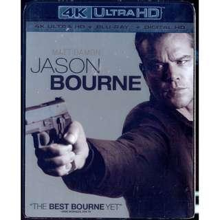 Jason Bourne 4K [  Blu-Ray ]