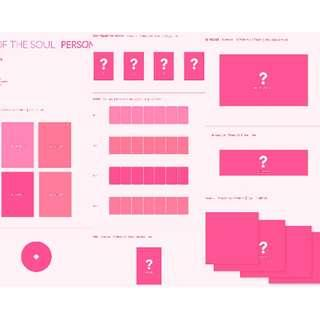 """[PRE ORDER – SEALED NO POSTER] BTS - Album """"MAP OF THE SOUL : PERSONA"""""""