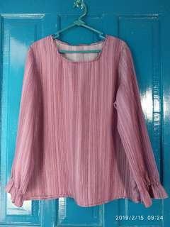 #shero [Nett/barter] Blouse Pink