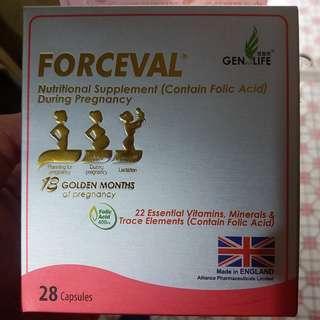 福施福 葉酸孕婦營養補充劑