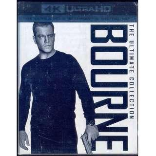 Bourne The Ultimate Collection 4K [ Blu-Ray ]