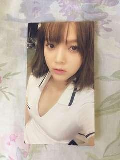 AOA - Jimin Official Photocard