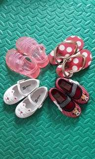 Take All @ P750 baby sandals for girls baby shoes
