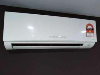 Mitsubishi 1.0HP Aircons