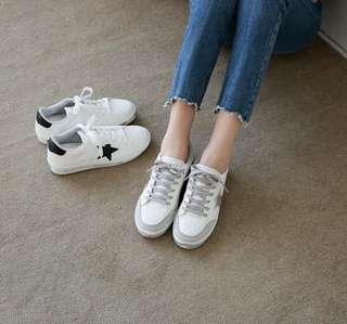 🚚 全新正韓白布鞋