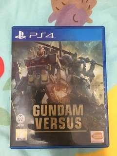 二手PS4 Gundam versus