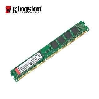 Kingston DDR3 4GB 1600MHZ CL11 KVR16N11S8/4 - 2 pieces