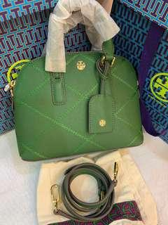 Authentic Tory Burch mini dome bag