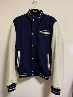 🚚 ☆Superme本舖☆ 極度乾燥 Superdry Japan Tokyo S&D 真皮 棒球外套 正品 拼接皮袖