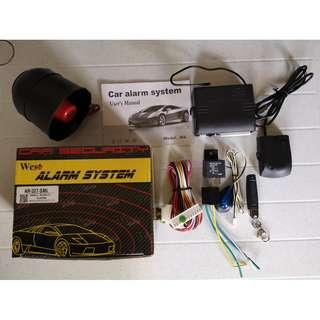 For Sale: West Car Alarm System