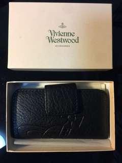 🚚 ☆Superme本舖☆ 英版 Vivienne Westwood 壓紋大土星 荔枝皮格紋路 經典款  鑰匙包