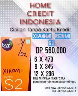Promo Cicilan Xiaomi Redmi S2 Kredit cepat banyak promonya